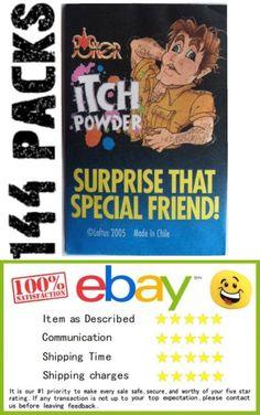 Novelty Vending Toys 51025: (144) Itching Powder Packs - Wholesale Display Case ~ Joke Prank (12 Dozen) -> BUY IT NOW ONLY: $53.95 on eBay!