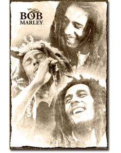 Bring the essence of Bob Marley to your home or office with the Trends International Bob Marley - Soulful Poster , which features three images of. Arte Bob Marley, Reggae Bob Marley, Bob Marley Pictures, Marley Family, Robert Nesta, Nesta Marley, The Wailers, Jamaica Travel, Concert Posters