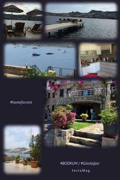 Bodrum / Gündoğan'da denize sıfır sezonluk kiralık ev.  The Home that is located seafront in Bodrum / Gündoğan #homeforrent just for summer