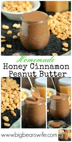 Homemade Honey Cinnamon Peanut Butter & a Blendtec Giveaway! Homemade Cake Mixes, Homemade Butter, Homemade Ketchup, Relish Recipes, Honey And Cinnamon, Food To Make, Peanut Butter, Giveaway, Favorite Recipes