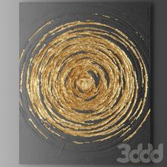 Pin by Vyomini on paper artwork Acrylic Painting Canvas, Canvas Art, Acrylic Art, Art Painting Tools, Painting Lessons, Diy Painting, Gold Leaf Art, Paper Artwork, Wood Artwork