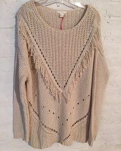 Sweater largo con flecos H&M - Comprar en come what may