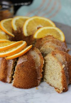 Orange Hazelnut Cake