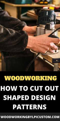 If you are new to wood crafts and woodworking projects you will want to create wood patterns and stencils.  How do you create stencil patterns or into drawing templates which you will use on your wood signs and DIY wood projects ideas? Check out these woodworking projects utilizing various router bits and wood router information. Here we provide information you can use for your wood cutout patterns. #woodworkingprojects #diywoodprojects #woodsigns #routerprojects #woodworkingbylpi… Woodworking Ideas Table, Diy Woodworking, Diy Wood Signs, Painted Wood Signs, Wood Patterns, Stencil Patterns, Wood Router, Wood Gifts, Wood Cutouts