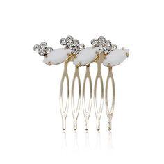 New Fashion Crystal Bridal Rhinestone Hair Clip Comb For Women Barrette Wedding Headdress Girls Hair Accessories Special offer(China (Mainland))