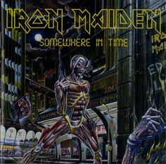 """Sep 29, 1986 – 29 years ago today, Iron Maiden released their 6th album, """"Somewhere In Time."""""""