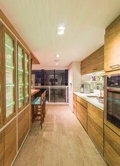 Apartamento Chef de Cozinha Cozinha Gourmet Projeto - Enzo Sobocinski Arquitetura