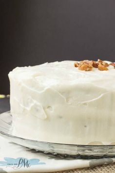 10 best food the really schmecks images on pinterest kitchens old fashioned banana layer cake with cream cheese frosting 2w forumfinder Images