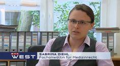 RTL-West vom 05.05.2015 Multiresistente Keime - Rechtsanwaltskanzlei Sabrina Diehl