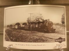 No. 65 Freight at Webb's Crossing, Hornell, N.Y.