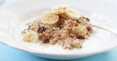 Banaani-rusinakaurapuuro