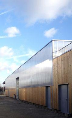 Centre Technique Intercommunal, Drancy (93) - Façade Danpalon® 10 et 16, 600 mm, cristal, 1511 m²
