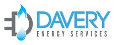 Conceptual logo for an energy firm that specializes in water, gas and electricity.