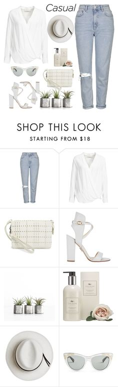 """Casual"" by jovana-p-com ❤ liked on Polyvore featuring Topshop, By Malene Birger, Vince Camuto, Paul Andrew, Cochine Saigon, Calypso Private Label and Gucci"