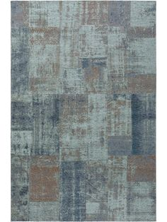 Vintage and Patchwork Rugs - Modern Style and Used Look Patchwork Rugs, Patchwork Designs, Style Vintage, Vintage Rugs, Plate, Modern Rugs, Blue Brown, Pin Collection, Collections