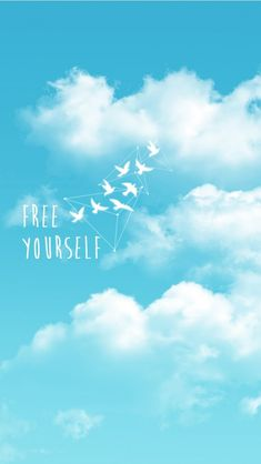 Free Yourself. Tap to see more wallpapers about Freedom! - @mobile9 #freedom #simple