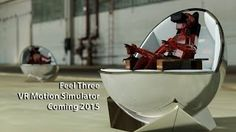The FeelThree is the 'Revolutionary' & Affordable Motion Simulator for the Oculus Rift & Virtual Reality. Enter the raffle to win one on our website. Kickstarter coming in 2015. http://www.feelthree.com/Win_a_F3