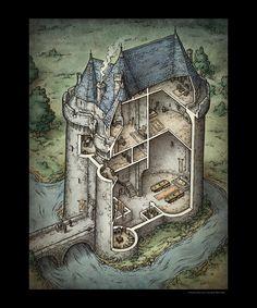 Castle Interior (Print)