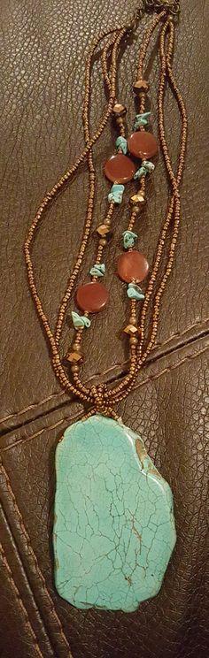 Southwestern Boho Vintage Beaded Turquoise by NeeNeeWorld on Etsy