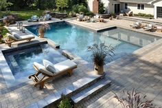 The Platinum Group is redefining Long Island landscape design and pools. Top gunite pool builder in Long Island, NY, including Cold Spring Harbor. Swimming Pool Landscaping, Luxury Swimming Pools, Dream Pools, Swimming Pool Designs, Inground Pool Designs, Luxury Pools, Pool Spa, Pool Cost, Moderne Pools