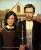 American Gothic House By Chibinette