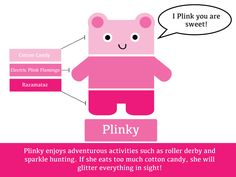 Plinky the Paint Chip Pal! Man Crafts, Pocket Letters, Paint Chips, Make Your Mark, Plushies, All The Colors, Flamingo, Activities, World