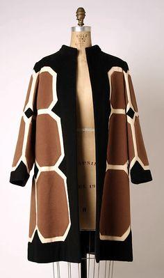 Coat | Pierre Balmain (French, 1914-1968) | France, circa 1968 | Material: wool | The Metropolitan Museum of Art, New York