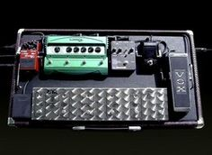 custom made pedal board