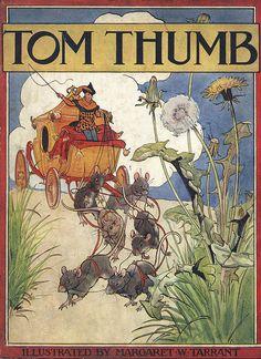 "Margaret Tarrant - ""Tom Thumb"", cover by sofi01, via Flickr"