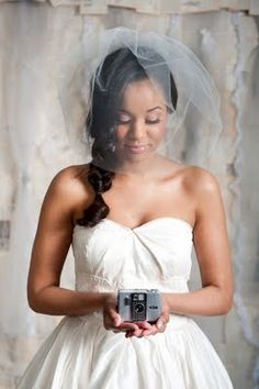 SANOJAH'S: DIY Bride... How to Make Your Own Birdcage Veil