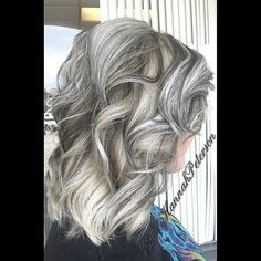 Woah! We did some gorgeous white hair today with the help of Olaplex. We added some dark brown lowlights to give it some definition. I love it! #thelegacysalon #hairbyhannahpeterson #cosmetology #cosmetologist #color #redken #redkenobsessed #brownlowlights #blondehighlights #highlights #lowlights #brown #brownandwhite #hair #haircolor #hairstyles #blonde #hairstyling #hairstyle #haircut #hairstylist #blondehair #curls #curlyhair #curly #flashlift #colorfusion