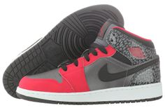 Nike Air Jordan 1 Mid GG 555112-019 Youth - http://www.gogokicks.com/