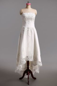 41694cac579 Vestidos de noiva Trabalho Sem Mangas Flor do laço Organza Organza