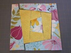 ~ Zany Quilter ~: ✿ Wonky Blocks Tutorial...