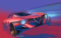 2011   Alfa Romeo   Design by Jack Luttin (Mercedes-Benz Designer)