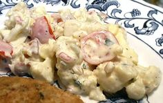 "Low Carb BLT ""Potato"" Salad!"