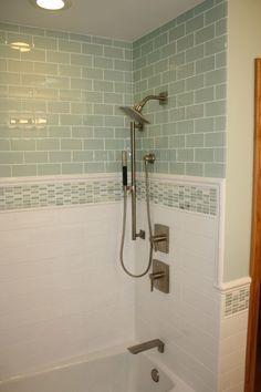4 Discerning Tips: Built In Shower Remodel small shower remodel ideas.Plastic Stand Up Shower Remodel. Bad Inspiration, Bathroom Inspiration, Shower Remodel, Bath Remodel, Bathroom Renos, Small Bathroom, Bathroom Ideas, Cozy Bathroom, Bathroom Showers