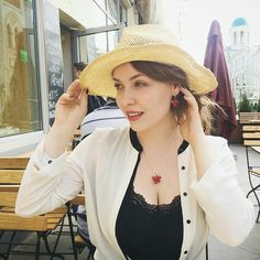 Actress Eugene Rozanova in our jewelry