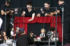Beck puppets