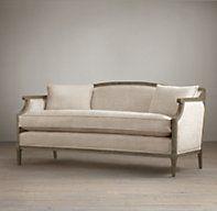 "Laurent Salon Bench | Ottomans & Benches | Restoration Hardware 63"" wide"
