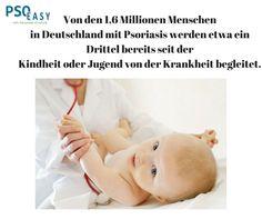 Von den 1,6 Mio #Menschen in #Deutschland mit Psoriasis werden etwa ein Drittel bereits seit der Kindheit oder Jugend von der #Krankheit begleitet.