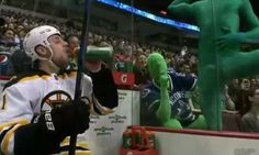 Funny Gif Of The Day: Campbell Gets The Green Man Treatment