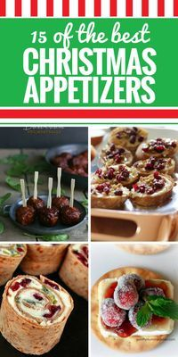 15 Christmas Appetizers. Tis the season for a party - and there's nothing better to bring than a holiday appetizer. We're sharing our favorites - be sure to check out the Bourbon barbecue meatballs and my all-time favorite cheesy bacon ranch dip. YUM.