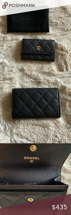 CREDIT CARD HOLDER WALLET NEW BLACK VERY RARE STYLE DARK BROWN