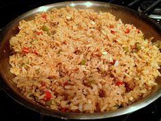 Alosha's Kitchen: Spanish Rice