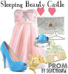 Sleeping Beauty Castle by DisneyBound