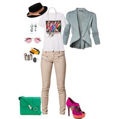 Green bag.  Here I Dreamt I Was an Architect, created by victrvictorious on Polyvore
