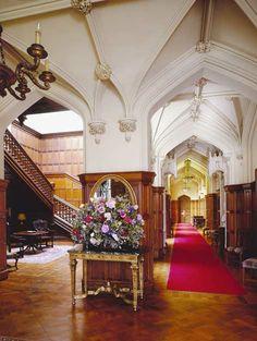 Dundas Castle foyer (my home is ready for me...Dundas Castle, near Edinburgh, Scotland)