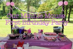 Simple, inexpensive tips for throwing a terrific Minnie Mouse themed birthday party