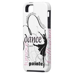 Dance On Pointe Case-Mate Case iPhone 5 Cover -- zazzle